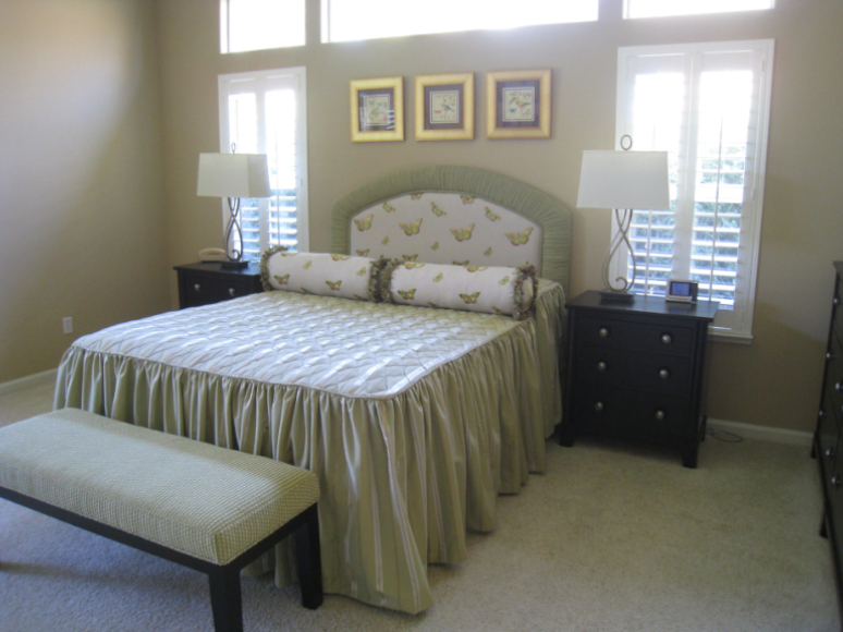 Our previous work for a bedroom